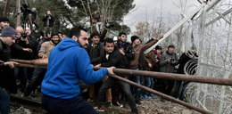 Emigranci szturmują granice. Zaskakujące słowa Tuska