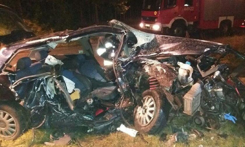 Tragiczny wypadek w Miodnicy (woj. lubuskie)