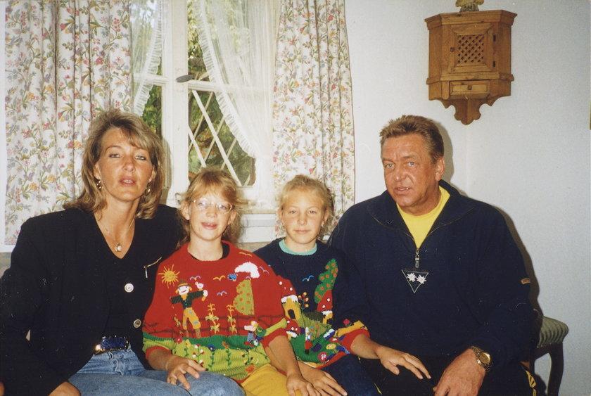 Andrzej Niemczyk z rodziną