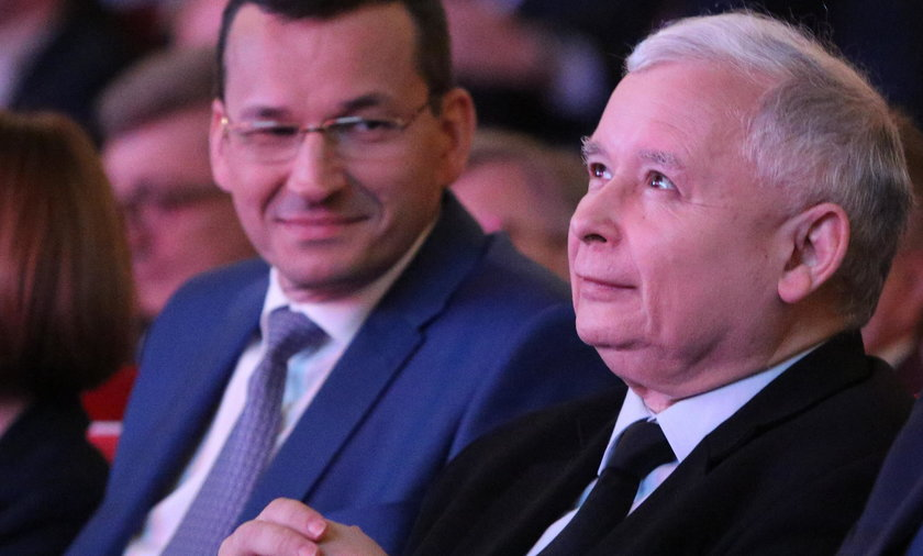 Morawiecki podlizał się Kaczyńskiemu