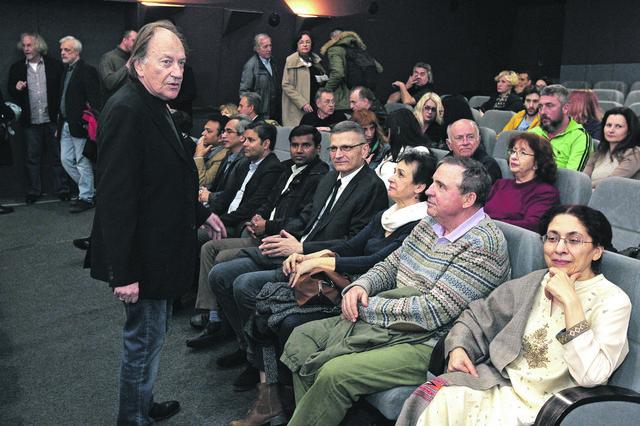 Goran Paskaljević sa gostima u Dvorani kulturnog centra