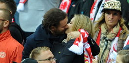 Namiętny pocałunek Rozenek i Majdana. Nie chowali się