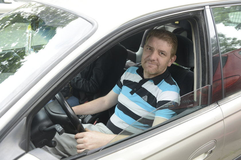 Artur Fałek (40 l.), kierowca z Wrocławia