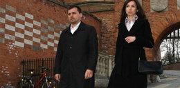 Marta Kaczyńska i Marcin Dubieniecki na Wawelu. ZDJĘCIA