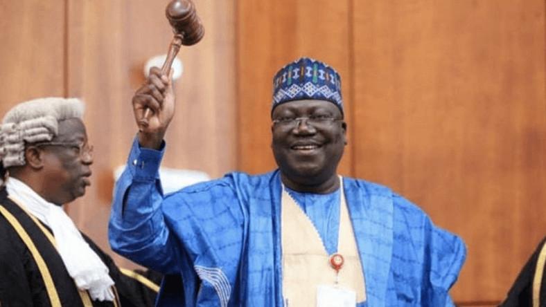 President of the Senate, Dr. Ahmad Lawan. [Twitter/@SPNigeria]