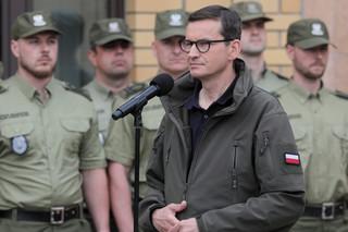 Morawiecki: To Białoruś ponosi odpowiedzialność za migrantów