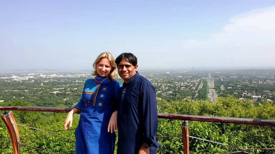 Hanka i Saqib w podróży do Pakistanu, Islamabad