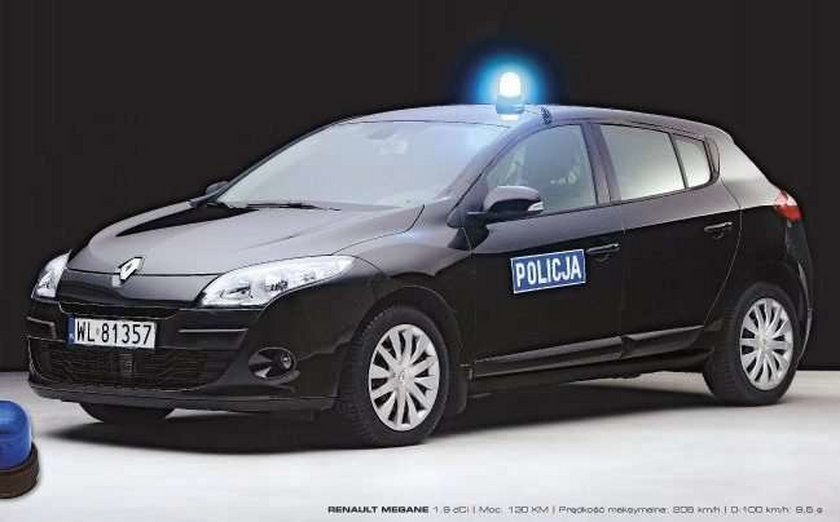 Uważaj! Takimi autami będzie ścigać Cię policja!