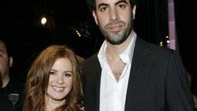 Żona Sachy Barona Cohena ukrywała swoją ciążę