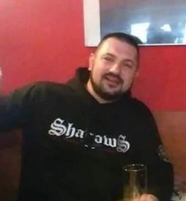 Navijač Partizana Goran Klještan Boske