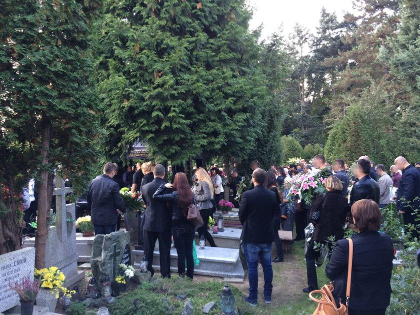 Pogrzeb Mariusza H. († 37 l.), śmiertelnie pobitego przez ochroniarza klubu go-go