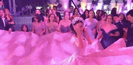 Bajkowy ślub siostrzenicy miliardera. Zobacz zdjęcia