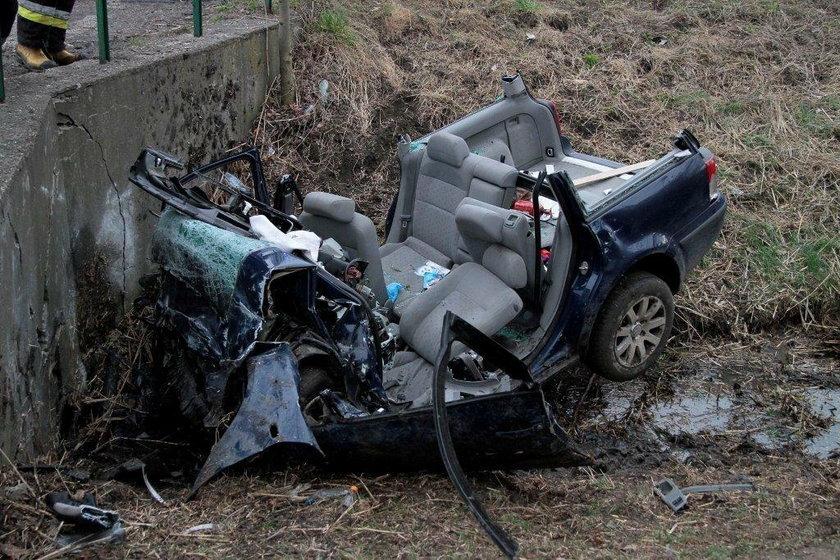 Wypadek w Prószkowie