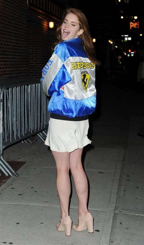 Del Rey ma problem z modą?