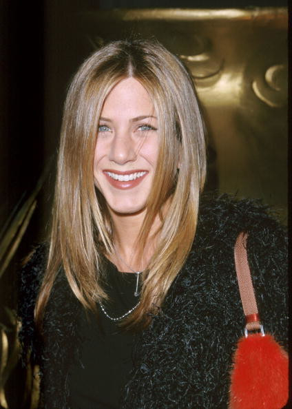 Jennifer Aniston 20 lat temu
