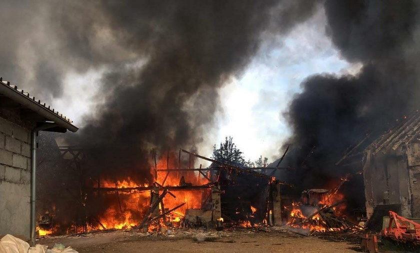 Pożar w Chróścinie Opolskiej