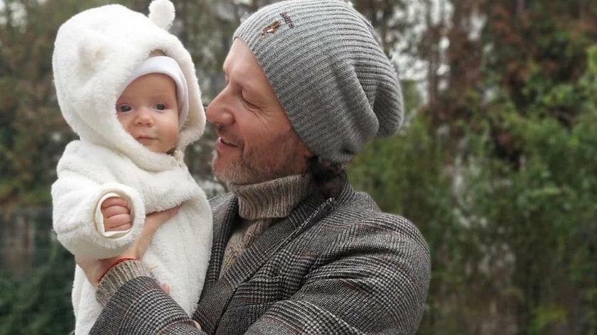 Radosław Majdan z Heniem
