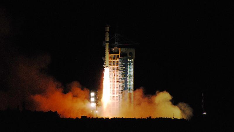 Start rakiety, która wyniosła chińską satelitę Micius na orbitę