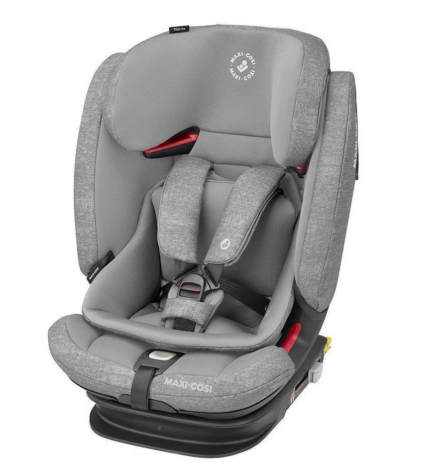 TitanPro - nowoczesny fotelik samochodowy dla dzieci w różnym wieku