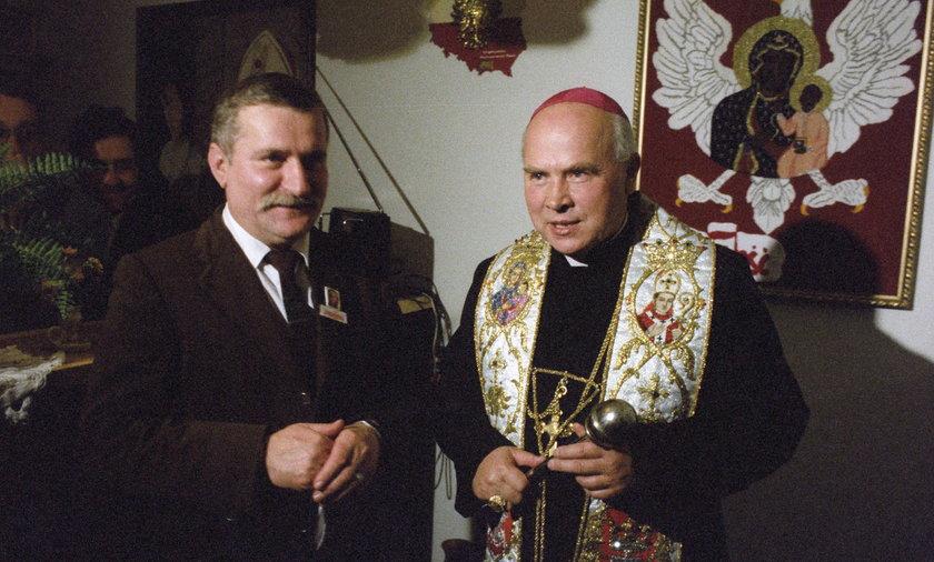 Lech Wałęsa Tadeusz Gocłowski