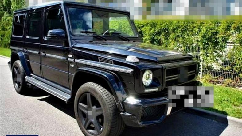 Kradziony Mercedes klasy G