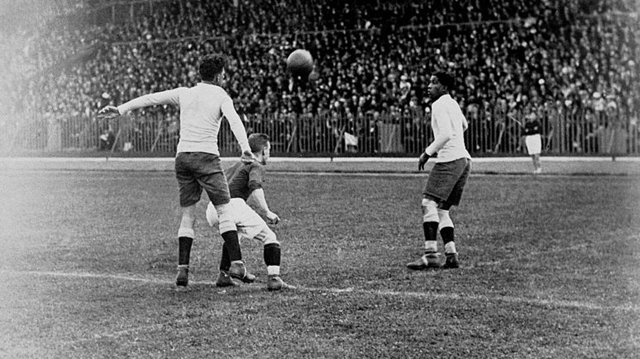 Urugwaj - Szwajcaria 3:0 (Paryż, 9 czerwca 1924 r.)