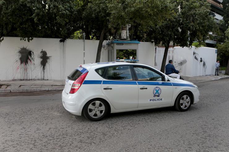 Grčka policija EPA - PANTELIS SAITAS