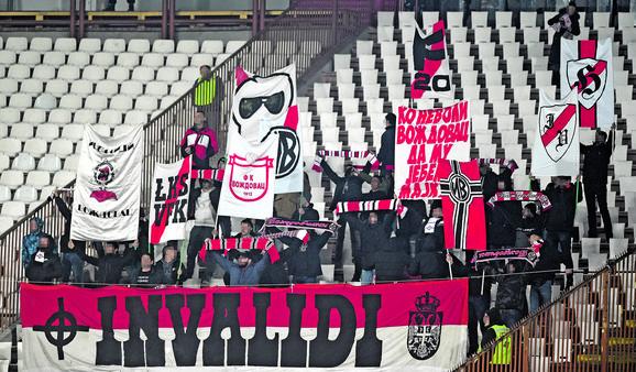 Pretučeni M.M  navijač je FK Voždovac