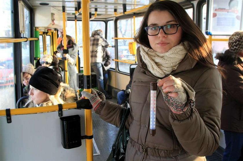 Chcemy mieć cieplej w tramwajach