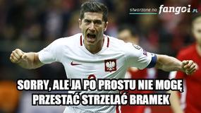 """""""Lewy"""" i... Hajto bohaterami memów po meczu Polska - Rumunia"""
