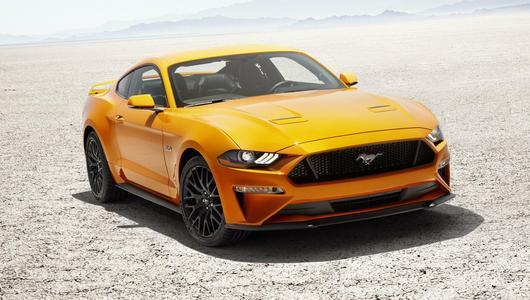 Nowy Ford Mustang 2018 wjeżdża na rynek!
