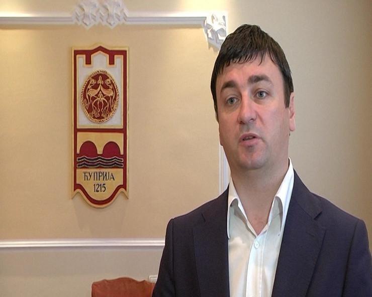Predsednik opštine Ninoslav Erić