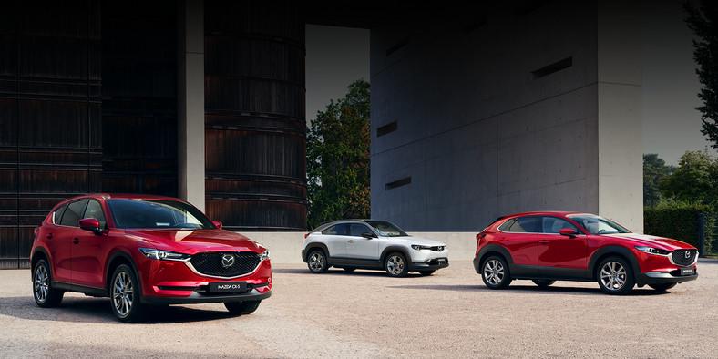 Mazda CX-5, MX-30 i CX-30