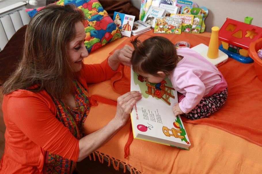 Ljiljana Jakšić sa Darijom kada je bila još beba