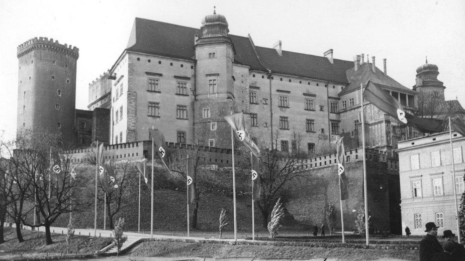 Zamek królewski na Wawelu w czasie okupacji niemieckiej