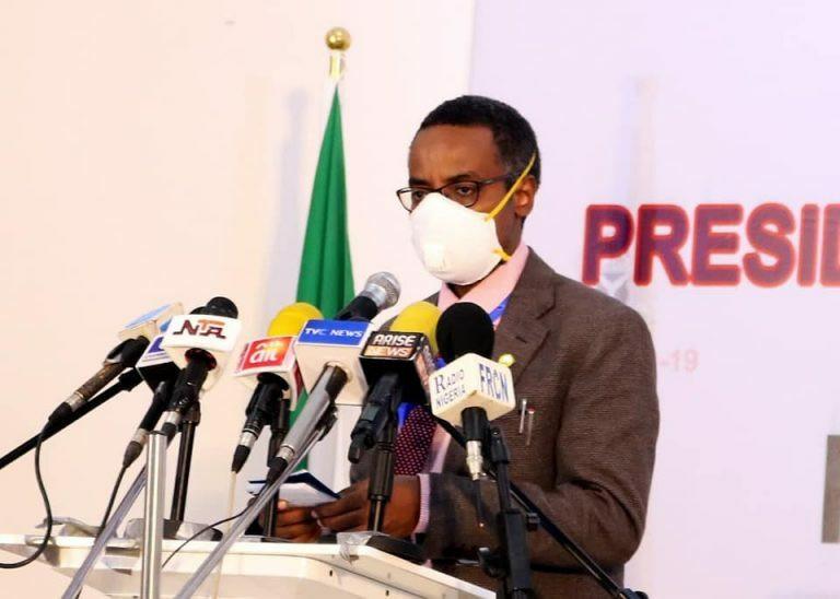 National Coordinator of the Presidential Task Force (PTF) on COVID-19, Dr Sani Aliyu. [NAN]