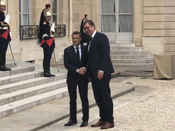 Makronov domaćin biće predsednik Srbije Aleksandar Vučić