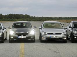 BMW serii 1 w klubie przedniego napędu!