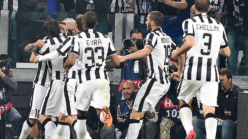 Radość piłkarzy Juventusu Turyn