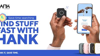 Save time searching with Hank - The everyday finder device