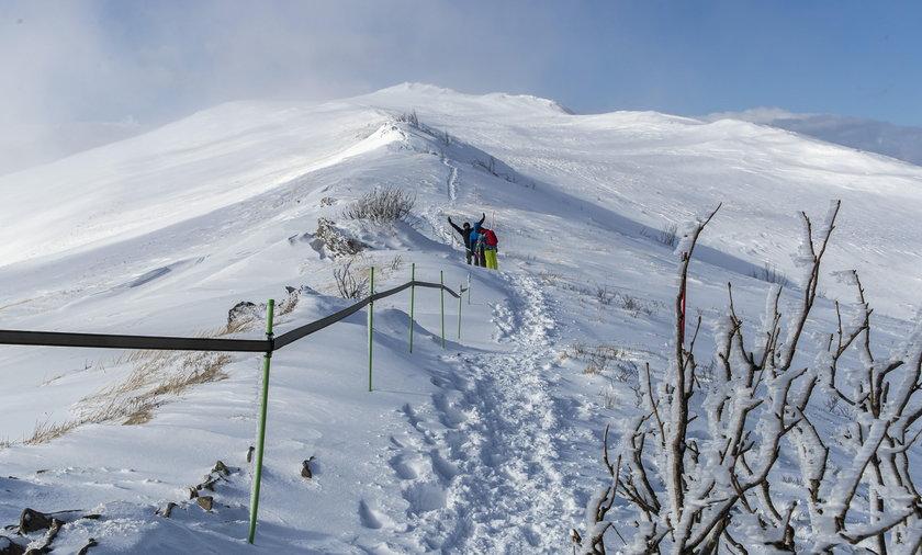 Jaka będzie zima? Sprawdzamy najnowszą długoterminową prognozę IMGW. Na zdjęciu: 12 lutego 2020 – Przełęcz Orłowicza w Bieszczadach.