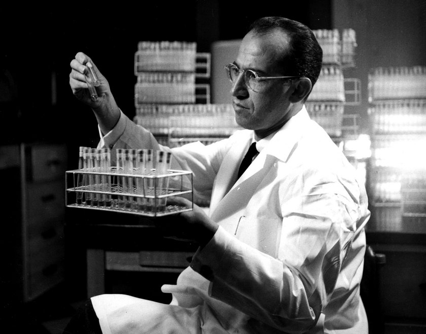Dr Jonas Salk