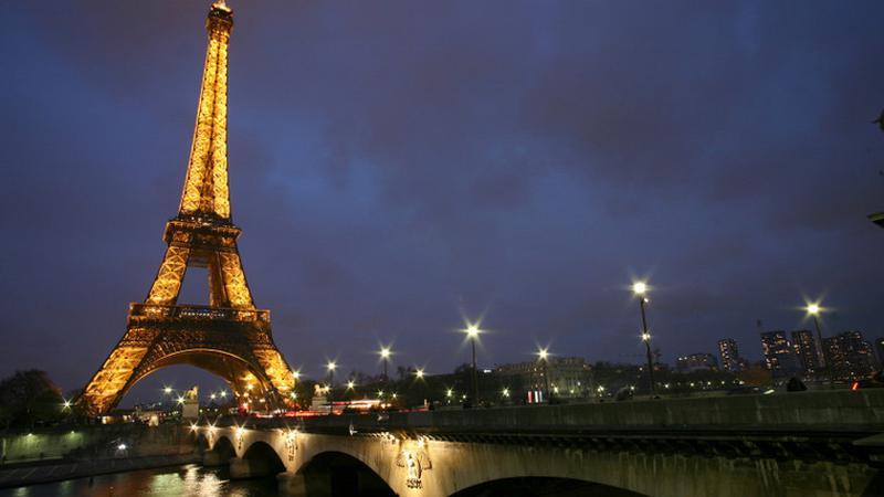 Paryż, Wieża Eiffla i Most Iéna