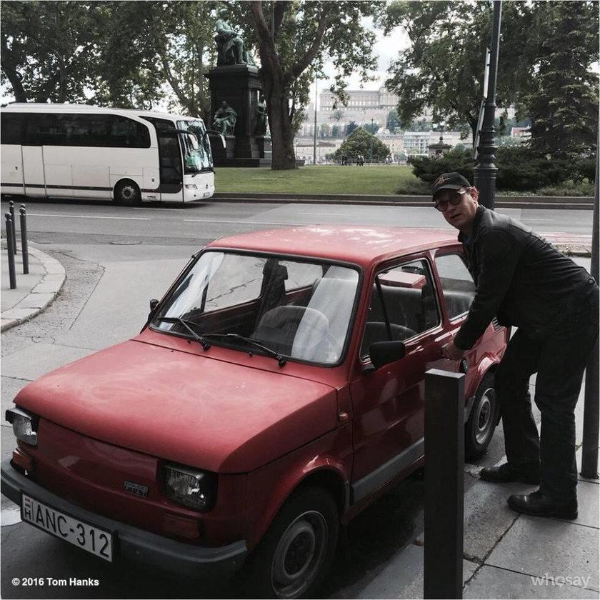 Tom Hanks ma nowe auto! Nie uwierzysz jakie