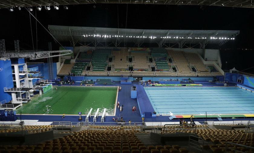 Rio 2016: Woda w basenie zmieniła kolor! MKOl wszczął śledztwo