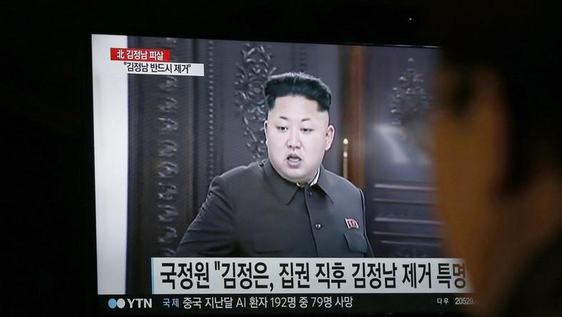 Kim Dzong Un pokazywany w telewizji