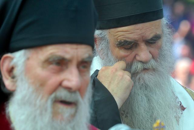 Sa patrijarhom Irinejem