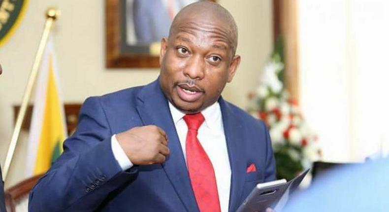 """""""My private parts have been electrocuted while peeing at JKIA Sonko cries out"""