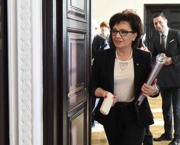 Szefowa gabinetu politycznego premier Elżbieta Witek