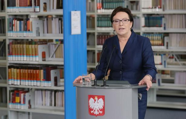 Premier Ewa Kopacz jest gotowa do debaty